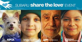 Over the last 11 years, through the Share the Love Event, Subaru of America and its retailers have donated more than $140 million to national charities and over 1,170 hometown charities.